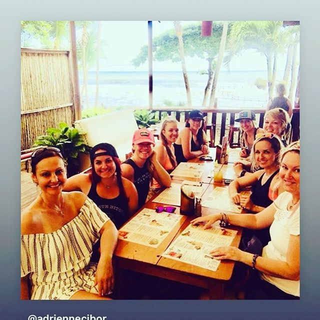 We had the best time on our yoga retreat with each and every woman there.  Thanks for the pic @adriennecibor