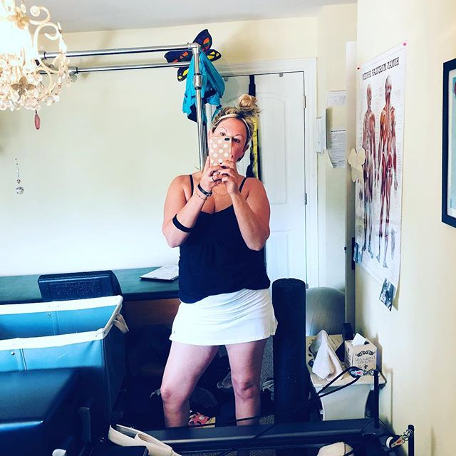 Yes, I am working out/teaching in shorts today. If you don't like my cellulite, stop looking❣️ #girls #girlpower #noshame  #iamme #likeitorleaveit #gracefulpilates