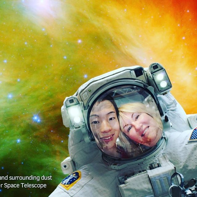 Me and @kosuke_nakano725 got spaced out...#space
