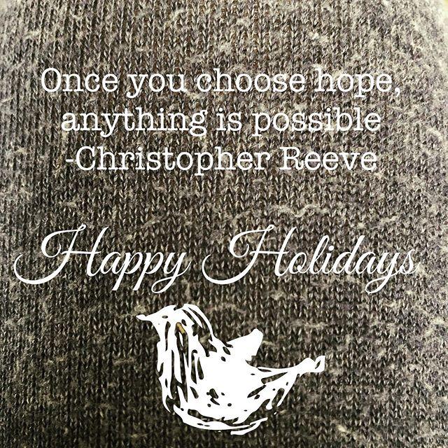 #hope #choosehope #itisachoice #🏼 Happy Holidays ☮️