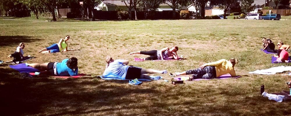 Pilates In Park